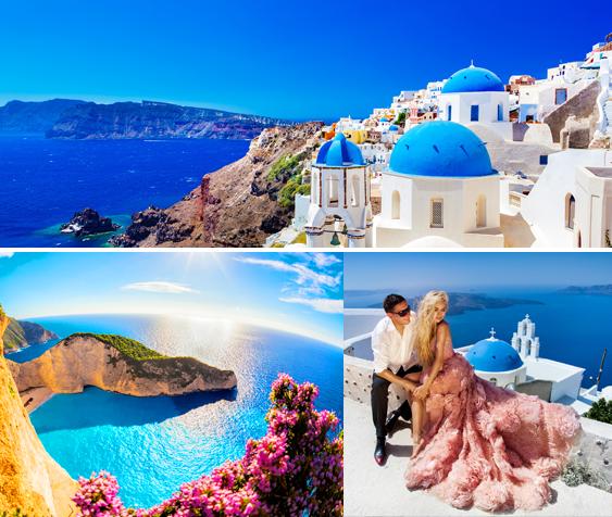 情迷希腊 婚纱旅拍