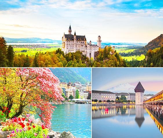 时尚先锋 瑞士+德国