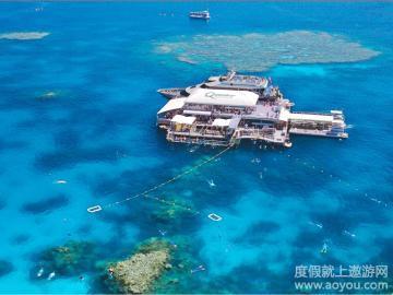 澳大利亚凯恩斯大堡礁9日游【全国联运/翡翠岛大堡礁/摩尔外堡礁】