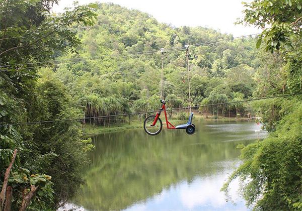 象岛丛林飞跃一日游