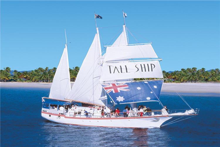黄金海岸南斯特拉德布罗克岛一日游(高桅横帆船)
