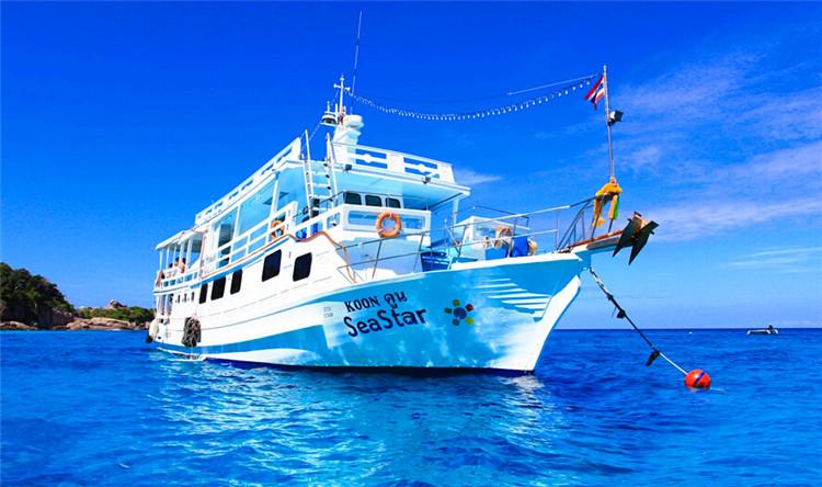 普吉岛斯米兰一日游(sea star快艇 / fantastic similan快艇 )