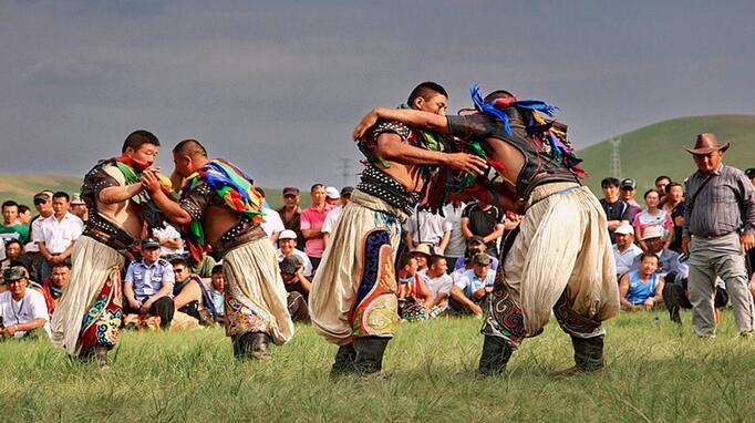 蒙古族游牧生活区