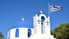 [周二自由行秒杀]【米岛 圣岛】希腊爱琴海7晚9天半自助【圣岛4星悬崖酒店/往返船票/机场及港口接送】