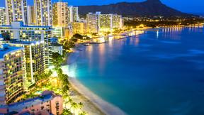 美国夏威夷5晚7天百变自由行【夏航北京直飞/私家沙滩超级乐园/威基基地标希尔顿】