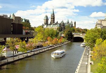 加拿大 秋之风景线
