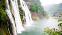 贵阳黄果树瀑布、荔波小七孔、西江千户苗寨(全程免门票)五日游