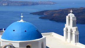 【立减1000】情定爱琴海希腊三岛9晚11天半自助【圣托里尼/米克诺斯/克里特/五星汉莎/全程接驳】