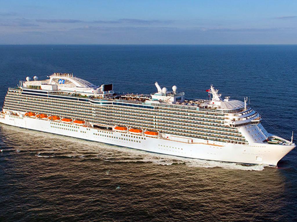 公主游轮帝王公主号波罗的海全景巡游14天12晚