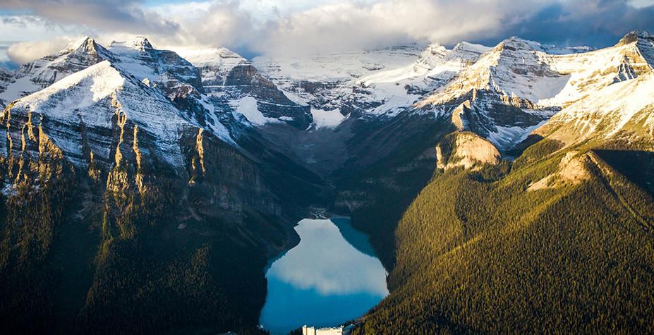 """加拿大 """"醉氧""""落基山"""