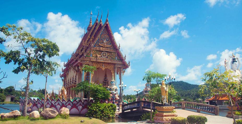 苏梅岛&新加坡 椰林系狮城