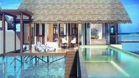 【马尔代夫·预售】奥臻度假村2晚沙滩别墅+2晚水上泳池别墅/4泳池水