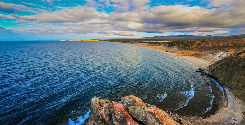 俄羅斯 貝加爾湖畔圖片