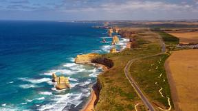 澳大利亞外堡礁 大洋路全景10日游【國航直飛 2晚5星 外堡礁 直升機 大洋路海線 熱帶雨林 抱考拉拍照 私家電動艇 羊駝莊園】