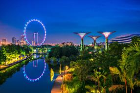 新加坡4晚6天百变自由行【国航直飞/性价比高/临近地铁】