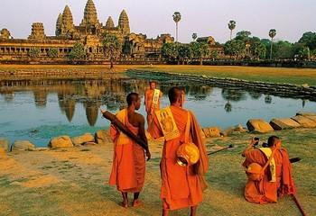 柬埔寨暹粒 神迹吴哥窟