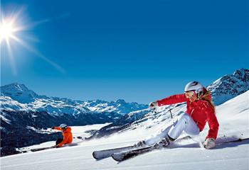"""瑞士""""白色冬季"""" 圣莫里茨 纯雪之旅"""