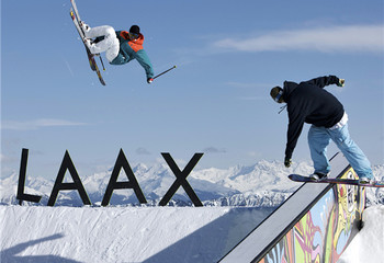 瑞士Freestyle乐园LAAX纯滑之旅