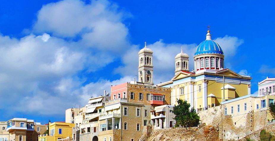 希腊爱琴海 沉淀千年的浪漫