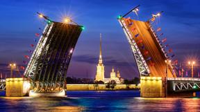 【尊享系列】俄羅斯雙首都莫斯科/圣彼得堡+謝鎮 3飛+1動 純玩 8日游【深圳往返】