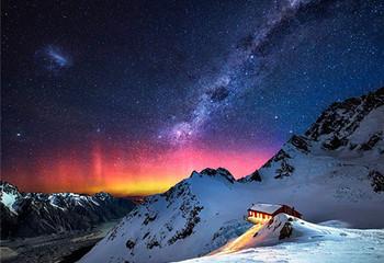 新西兰 醉美十字星空下
