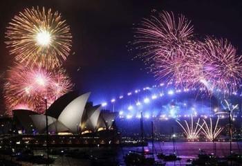澳大利亚 跨年光影盛宴