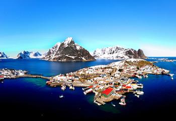国家地理 挪威罗弗敦群岛 北极圈的海上天堂