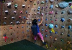 攀岩,自然滋养的孩子