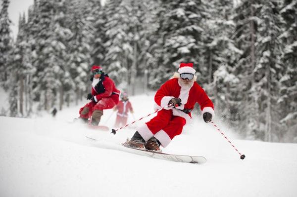 玩在惠斯勒,滑雪与圣诞更配哦