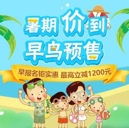 2018上海暑期预售