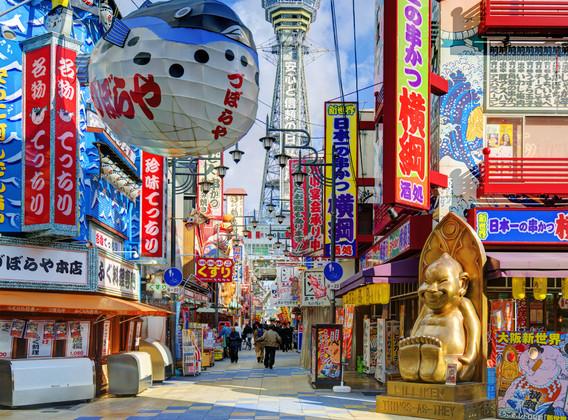 【富士花海】日本本州全景魅力双城7日游【双温泉/明示酒店/东京大阪自由】