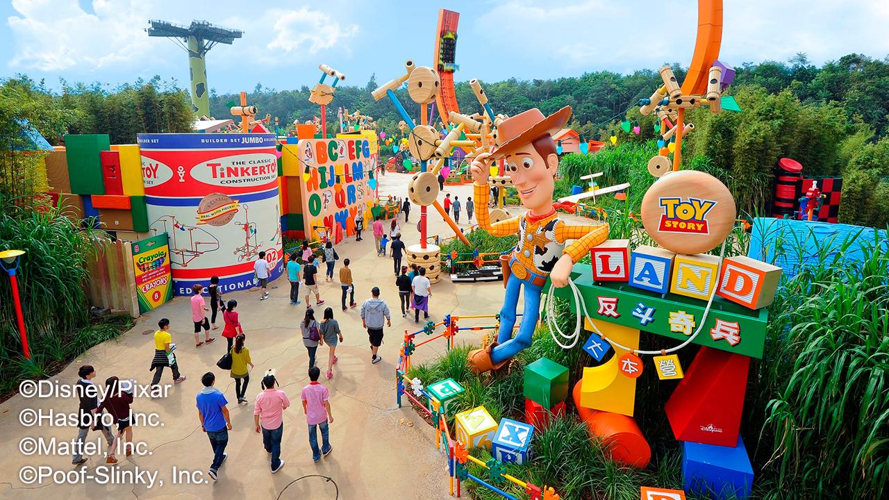 【超值奢玩】中国香港3晚4天百变自由行【香港迪士尼乐园/早去晚回】