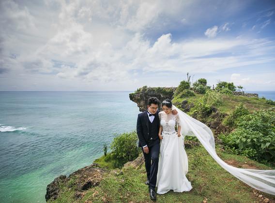 【海外婚拍】巴厘岛5晚7天半自助【专属车导/独栋泳池别墅/海边国际五星/蜜月礼遇】