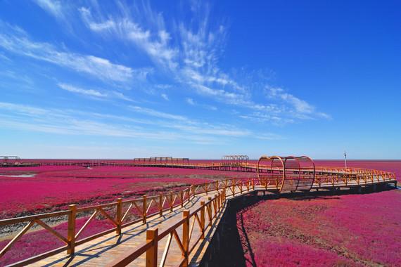 【玩轉東北】盛京沈陽、濕地之都-紅海灘、鴨綠江斷橋、中朝邊境0距離、浪漫海濱大連、相擁長白山脈多彩風情之旅雙高8日游